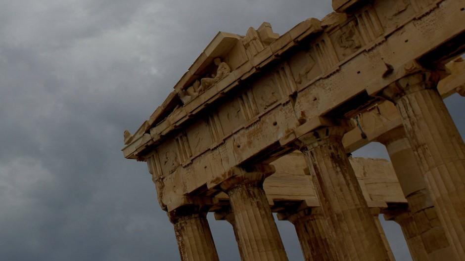 Sinnbild Griechenlands: Der Parthenon-Tempel in Athen.