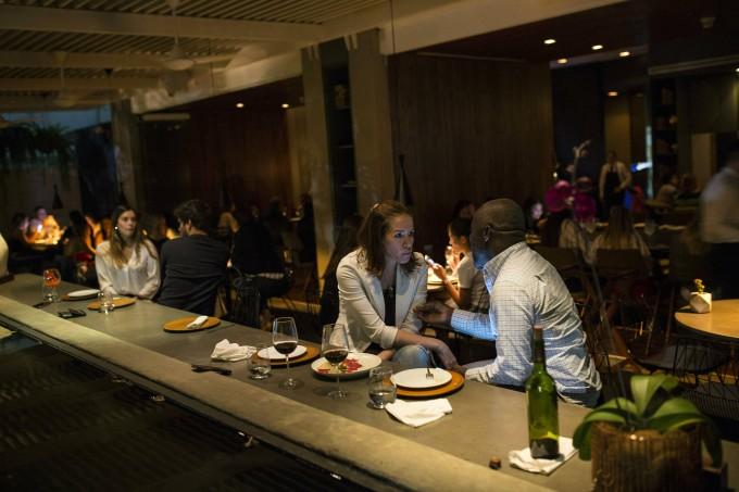 Ein vom Budget gehobeneres Restaurant in Caracas