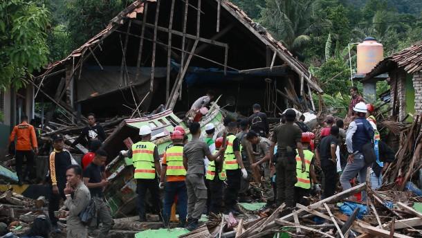 Zahl der Toten in Indonesien gestiegen