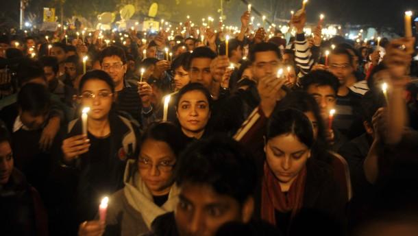 Wut und Trauer in Indien