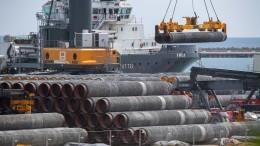 USA und Deutschland offenbar kurz vor Einigung zu Nord Stream 2