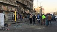Selbstmordanschläge fordern dutzende Tote