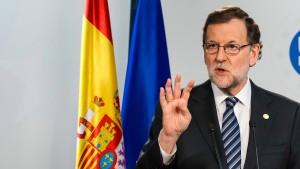 Rajoy droht Katalonien mit Entzug der Teilautonomie