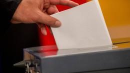 Die Bundestagswahl hat begonnen