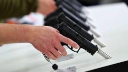 Hohe Strafe für illegale Waffenexporte