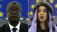 Denis Mukwege und Nadia Murad wurden in diesem Jahr mit dem Friedensnobelpreis ausgezeichnet.