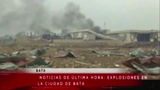 Hunderte Verletzte nach Explosionen in Äquatorialguinea