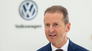 "VW-Chef Diess sieht in Autozöllen ""echte Bedrohung"""