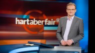 "Frank Plasberg moderiert ""Hart aber fair"""