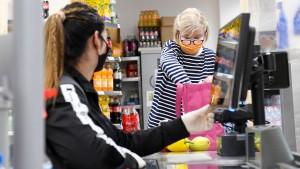 Kann ich mich im Supermarkt anstecken?