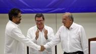 Regierung in Kolumbien einigt sich mit Rebellen