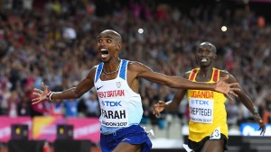Mo Farah gewinnt Heimspiel über 10.000 Meter