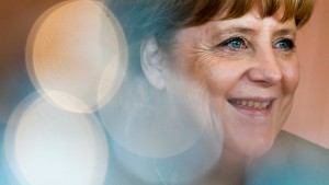 Merkel: Trete für die volle Amtszeit an