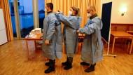 Impfteam der Bundeswehr in Berlin