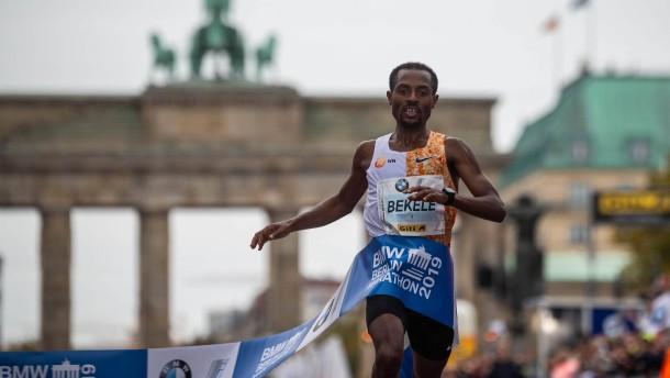 Bekele verpasst knapp Marathon-Weltrekord