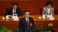 China stellt sich auf langsameres Wirtschaftswachstum ein