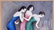 """Dardel, """"Träume und Phantasien 1"""", Aquarell aus dem Jahr 1922"""