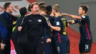 Leipzig ist der erfolgreichste Aufsteiger in die Bundesliga und bricht einen Rekord nach dem nächsten.
