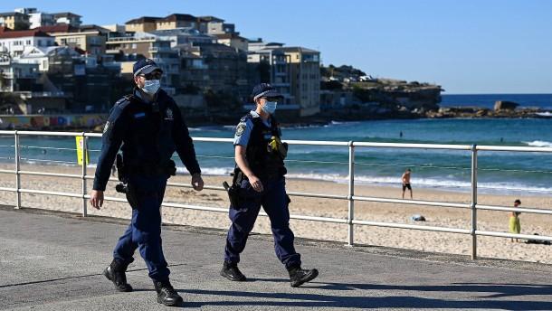 Sydney verlängert Lockdown abermals