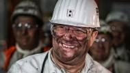 Ausstieg aus der Steinkohle: Zum Abschied besuchte NRW-Ministerpräsident Armin Laschet das Bergwerk Prosper-Haniel in Bottrop.
