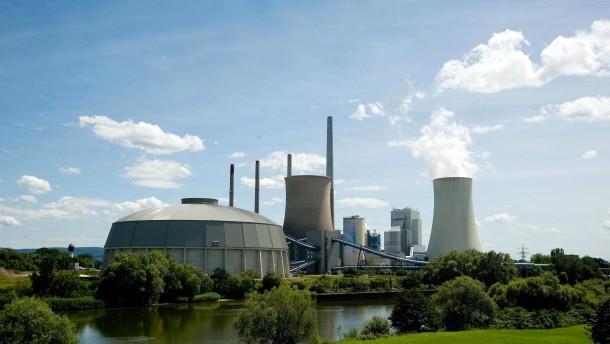 Kraftwerk Staudinger - Das Kohlekraftwerk im hessischen Großkrotzenburg.