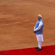 Narendra Modi ist seit Mai 2014 amtierender Premierminister Indiens.