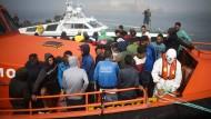 Flüchtlinge, die nach Nordafrika zurückkehren, werden von deutschen Behörden zu Gründern gemacht.