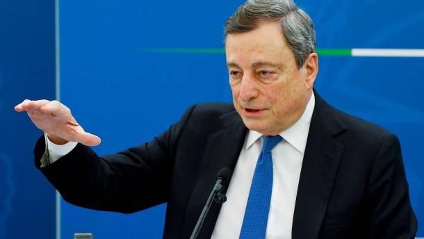 Draghi stößt auf Schwierigkeiten