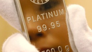 Platin bleibt billiger als Gold