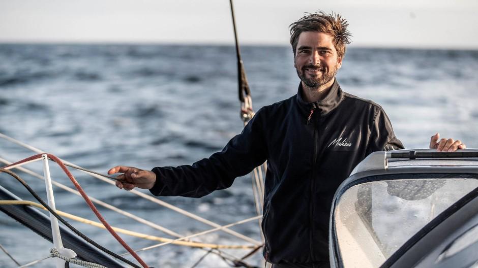 Hat keine Angst vor der Absage der Vendée Globe: Profi-Segler Boris Herrmann