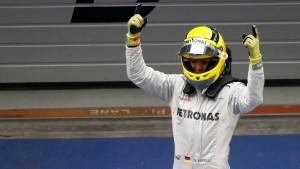 Rosbergs Glückszahl: Erster Sieg im 111. Grand Prix