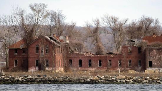 Verbotene Toteninsel vor New York