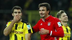 """Ein """"Schlüsselspiel"""" für Bayern und Dortmund"""