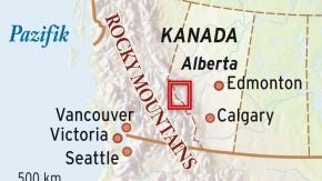Karte / Kanada