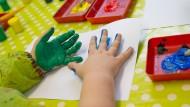 """Kindergarten"" statt ""Kita""? Eine Thüringer Initiative kämpft gegen den Kunstbegriff ""Kita"" (Symbolbild)."