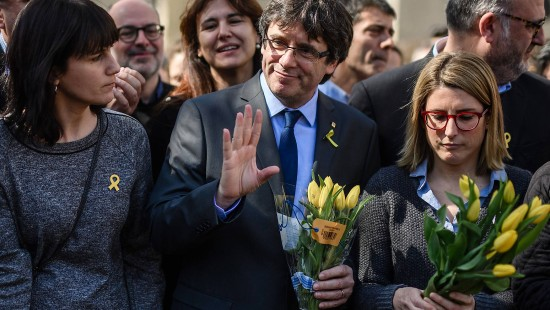 Puigdemont will vorerst in Berlin bleiben
