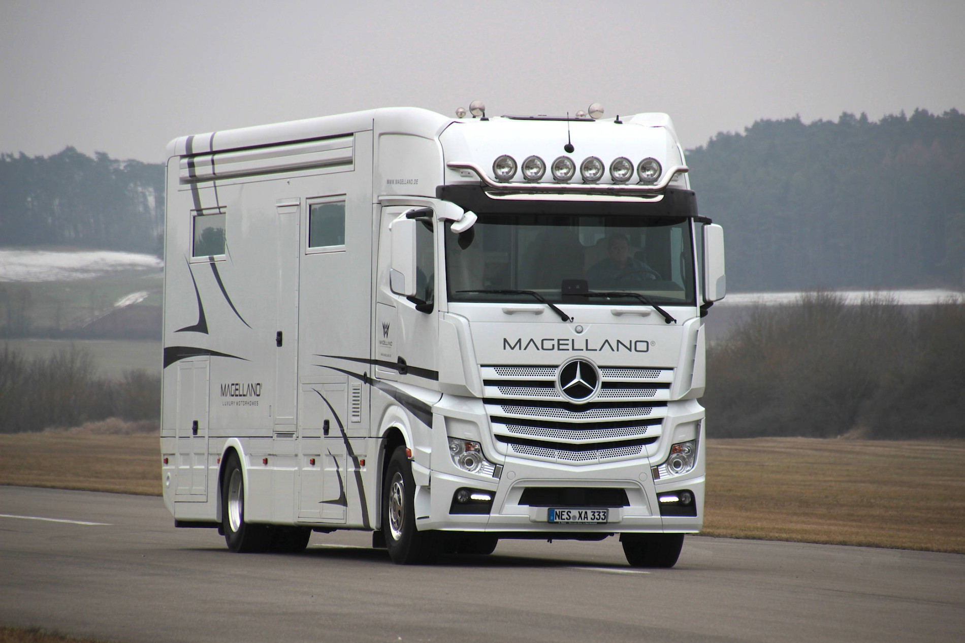 Mercedes Actros als Wohnmobil? Michael Ebner macht`s möglich