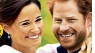"""Wir basteln uns ein Liebespaar: Man ersetze die Köpfe von William und Kate mit denen von Pippa und Harry  - schon hat der """"Freizeitexpress"""" eine Titelstory - klicken Sie das Bild groß."""