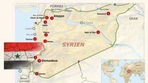 Schwere Kämpfe syrischer Kriegsparteien im Libanon