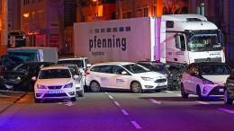 Für Polizei ist Limburger Lastwagen-Vorfall kein Terroranschlag