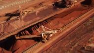 BHB Billiton baut im Westen Australiens Eisenerz ab.