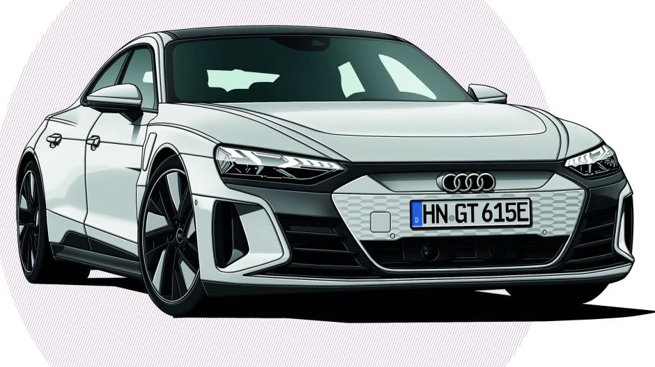 Audi e-tron GT 60 quattro Distance Plus