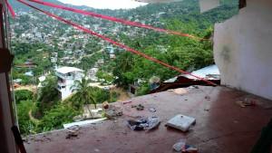 Hotels am Strand von Acapulco evakuiert