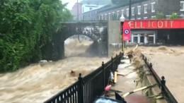 Maryland wird zur tödlichen Wildwasserlandschaft