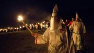 Ehemaliger Anführer des Ku-Klux-Klans will Trump helfen