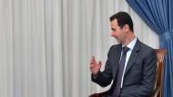 Assad zeigt sich offen für Gespräche mit Amerika