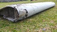Wrackteil gehört sehr wahrscheinlich zu MH370