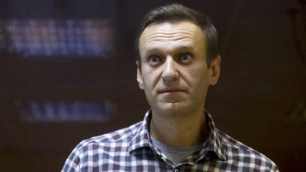 Nawalnyj soll nun doch ein gewaltloser politischer Gefangener sein