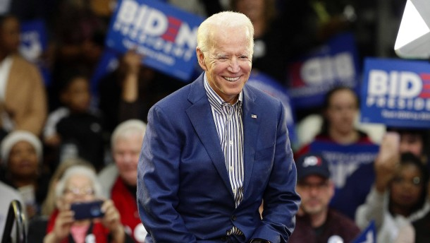 Joe Biden klarer Sieger in South Carolina