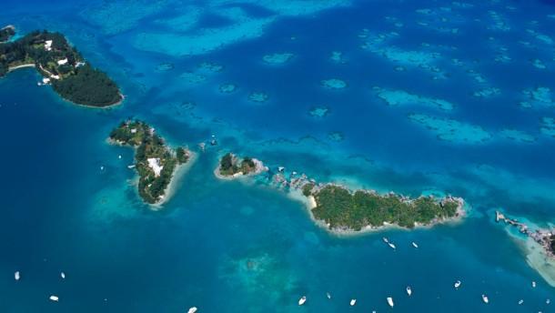 Das sind die Inseln der Superreichen